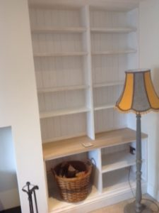 Bespoke fitted shelving